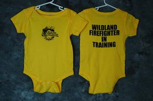 Infant Onesie (18 Mo) FF in training