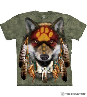 Native Wolf Spirit tee