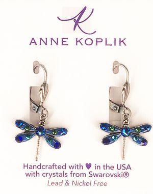 Anne Koplik Dragonfly Earring