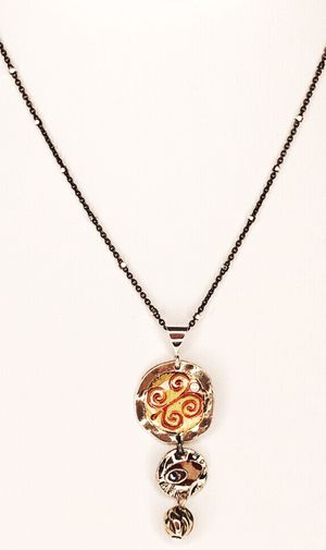 Ann Carol Designs Sterling Pendant Necklace