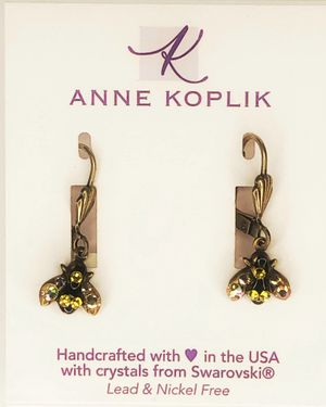 Anne Koplik Bee Sparkle Earring