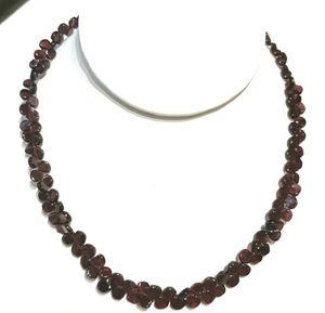 KJK Garnet Necklace