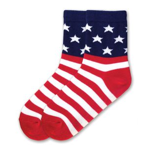 Stars and Stripes Kid's Socks