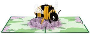 Love Pop Bee Greeting Card