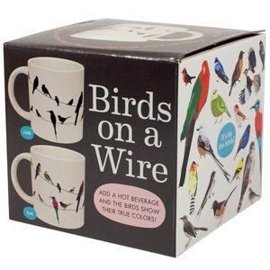 Birds on a Wire color change Mug