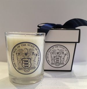 The Great Seal of the State of NewJersey Candle