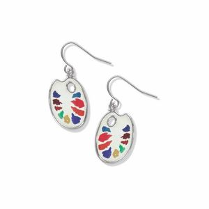 David Howell Artist Palette Earrings