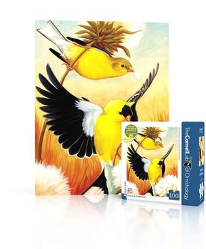 100 piece Mini Puzzle Goldfinch