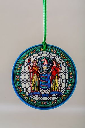 New Jersey Great Seal Suncatcher Ornament