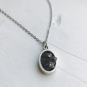 Yūgen Meteorite Chunk Pendant