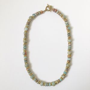 Harriet Goldstein Peruvian Opal Bead Necklace
