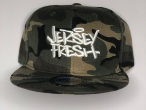 Leon Rainbow Jersey Fresh Snap Back Camo Cap