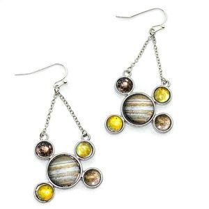 Yūgen Galilean Moons of Jupiter Earrings