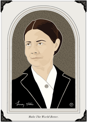 19th Amendment Lucy Stone Notecard
