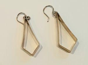 Old Blood Brass Earring