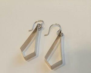 Old Blood Sterling Silver Earring
