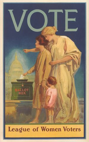 Vintage Suffrage Postcards