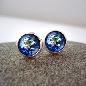 Yūgen Earth Stud Earring
