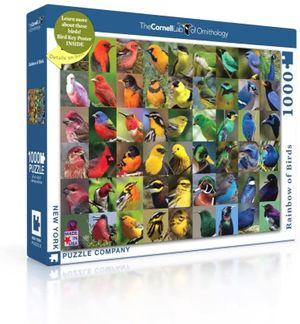 1000 piece Rainbow of Birds Puzzle