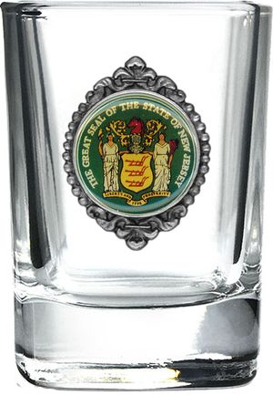 Great Seal of New Jersey Shot Glass