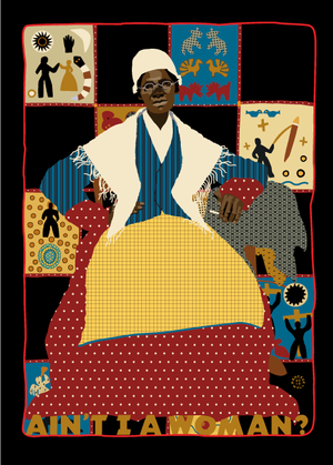 19th Amendment Sojourner Truth Notecard