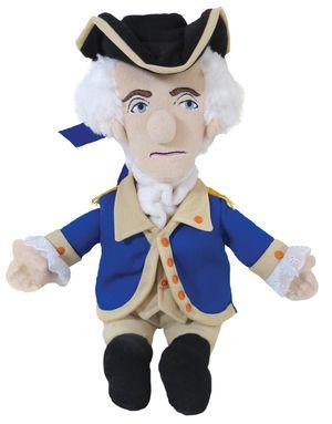 George Washington Little Thinker Doll