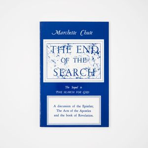 The End of the Search