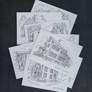 Historic House Letterpress Cards