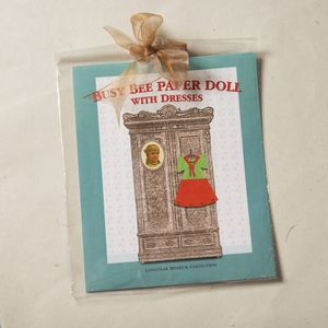Busy Bee Paper Doll