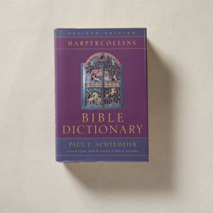 Harper Collins Bible Dictionary Achtemeier