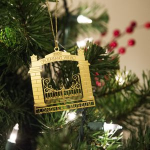 Brass Pleasant View Ornament