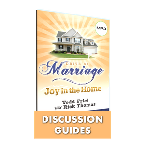 Drive By Marriage Study Guide Digital Download