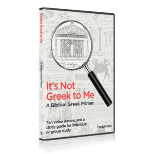 It's Not Greek to Me
