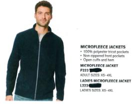 Port Authority Microfleece Jacket White