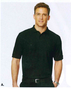 Port Authority Silk Touch Polo Black