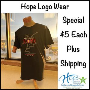 2018 Walk & Roll for Hope T-Shirt
