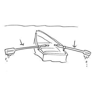 Rowboat Oars