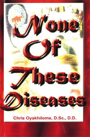 None Of These Diseases