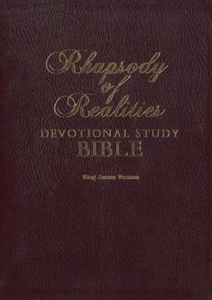 The Rhapsody of Realities Devotional Study Bible