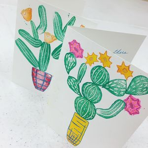 Art of Healing: Cheerful Cactus Cards on 3/28/19 at  3-4:30pm