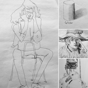 Beginning/Intermediate Four Week Drawing Series, May 8-29 at 5:30pm