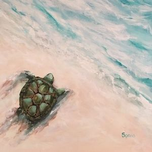 Canvas & Cocktails: Turtle Beach on 7/17/19 at 6-8pm