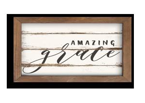 Amazing Grace Framed Art