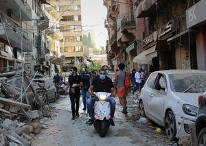 HUMANITARIAN RELIEF IN BEIRUT