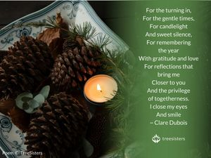 Candlelight Reflection - Holiday