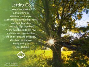 Letting Go - Memorial