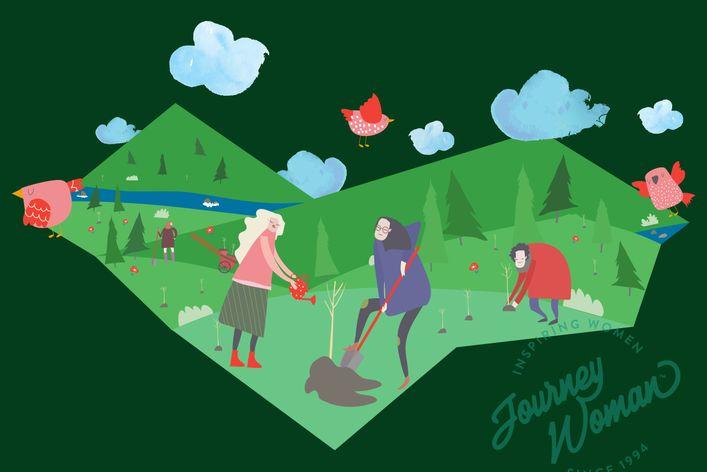JourneyWoman TreeSisters  Campaign Fund