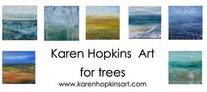 KAREN HOPKINS ART FOR TREES