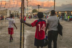 Sandout Soccer & Peace Initiative