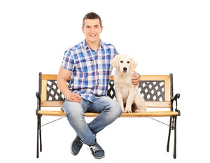 *RESERVED* Adoptable Puppy Room Bench